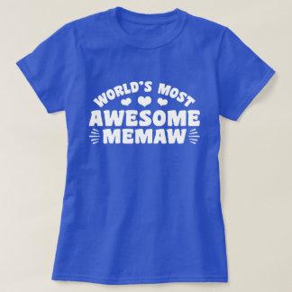 Camiseta O MeMaw o mais impressionante do mundo