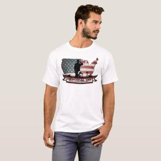 Camiseta O Memorial Day original honra o t-shirt