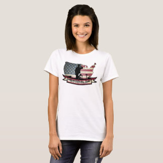 Camiseta O Memorial Day original honra o t-shirt