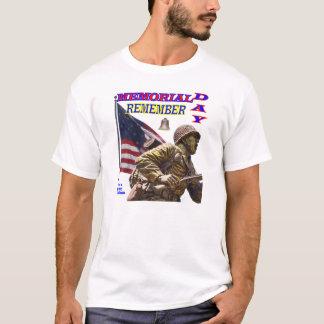 Camiseta O Memorial Day recorda