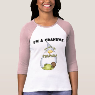 Camiseta O menino americano Luz do sol-Africano da avó