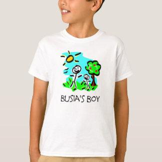 Camiseta O menino de Busia (figura da vara)