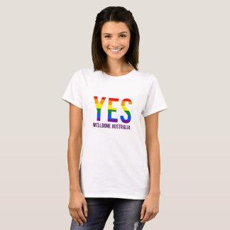 Camiseta O mesmo casamento Austrália do género
