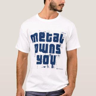Camiseta O metal possui-o