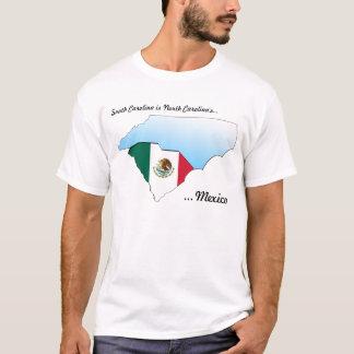 Camiseta O México de North Carolina