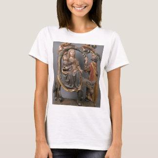 Camiseta O milagre da palmeira no vôo Egipto
