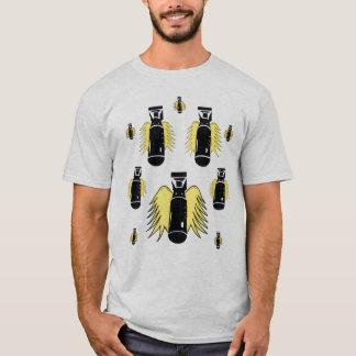 "Camiseta O ""míssil voa """