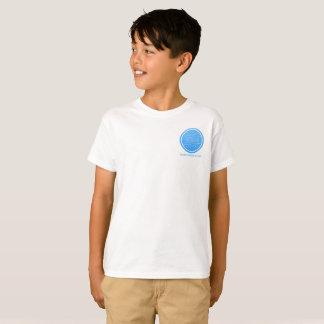 Camiseta O miúdo canta o t-shirt do ato da dança