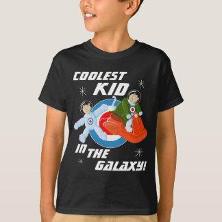 Camiseta O miúdo o mais fresco na galáxia!