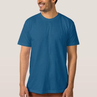 Camiseta O modelo DIY personaliza AZUL AZUL do T-SHIRT
