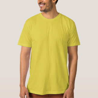 Camiseta O modelo DIY personaliza o T-SHIRT ORGÂNICO Dijon