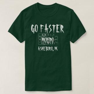Camiseta O MONDO T - verde oxidado