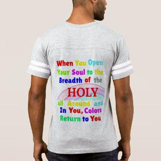 Camiseta O Monotheism promove a cegueira de cor