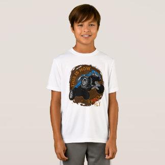Camiseta O monster truck isto é como eu vôo