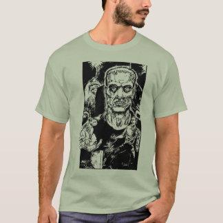 Camiseta O monstro escapa o t-shirt