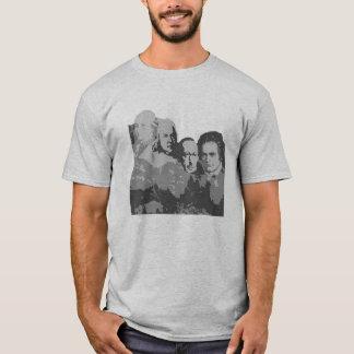 Camiseta O Monte Rushmore do t-shirt dos compositores