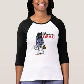 Camiseta O morto de trabalho - menina