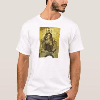 Camiseta O mosaico do Virgin e da criança do Hagia Sophia