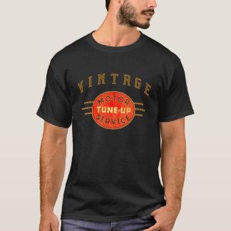 Camiseta O motor do vintage ajusta acima