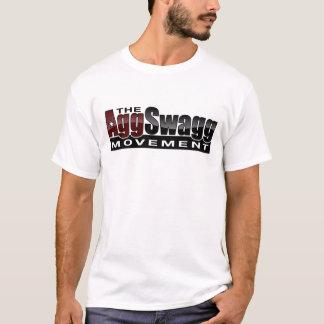 Camiseta O movimento de Agg Swagg - o t-shirt dos homens