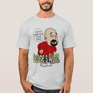 Camiseta O mundo de Duane Shorts o BAM
