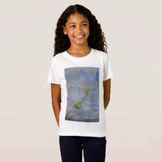 Camiseta O mundo é mas umas canvas à imaginação