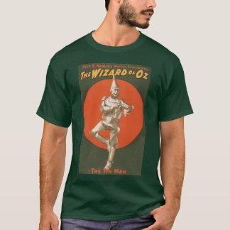 Camiseta O Musical de mágico de Oz - homem da lata