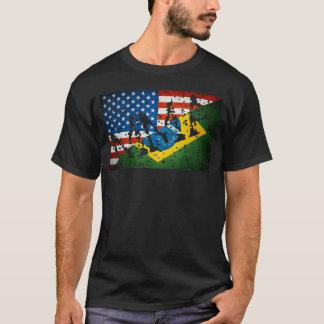 Camiseta O Muttahida Majlis-E-Amal embandeira o t-shirt