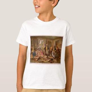 Camiseta O nascimento da glória velha por Percy Moran