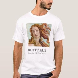 Camiseta O nascimento de Botticelli de Venus