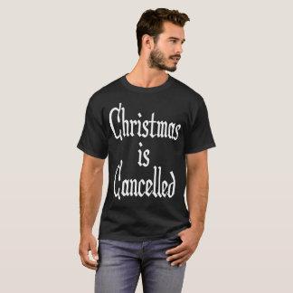 Camiseta O Natal é cancelado