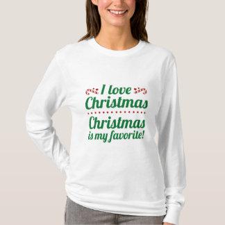 Camiseta O Natal é meu favorito
