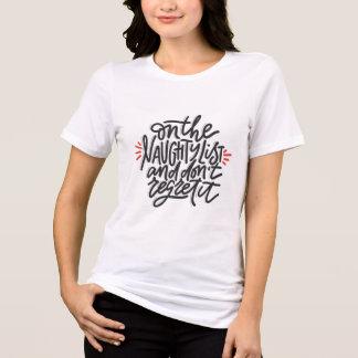 Camiseta O Natal engraçado cita o crente impertinente da