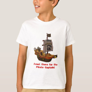 Camiseta O navio de pirata do corsário caçoa o t-shirt