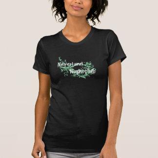 Camiseta O Neverland das mulheres - T escuro