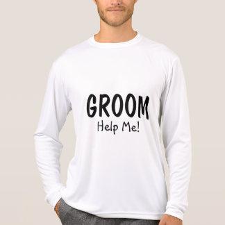 Camiseta O noivo ajuda-me