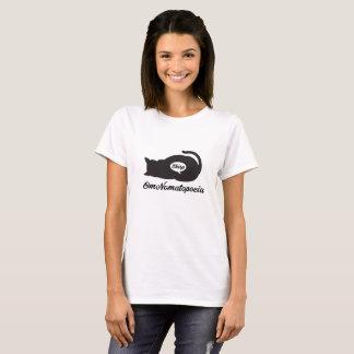 Camiseta O nom do OM, gato come o pássaro