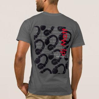 Camiseta o nome do DJ, esfria & na moda