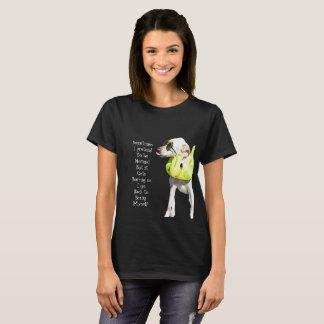 Camiseta O Normal está furando o T das mulheres