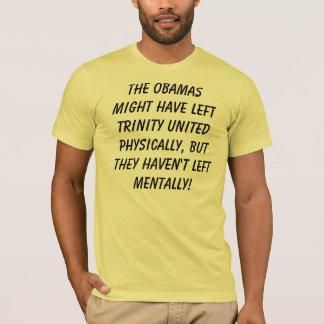 Camiseta O Obamas pôde ter trindade esquerda o physi unido…