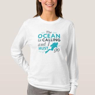 Camiseta O oceano está chamando