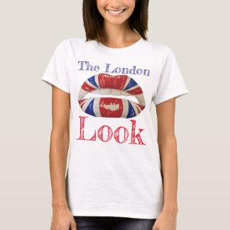 Camiseta O olhar de Londres - t-shirt