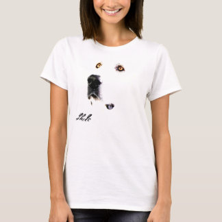 Camiseta O olhar fixo de Pyrenees