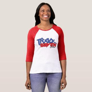 Camiseta O orgulho nacional das mulheres 3/4 de t-shirt -