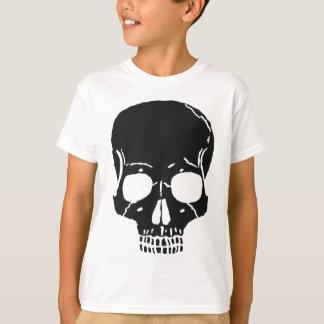 Camiseta O osso do crânio desossa assustador assustador