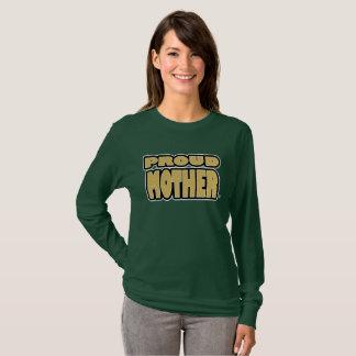 Camiseta O ouro orgulhoso da mãe exprime t-shirt