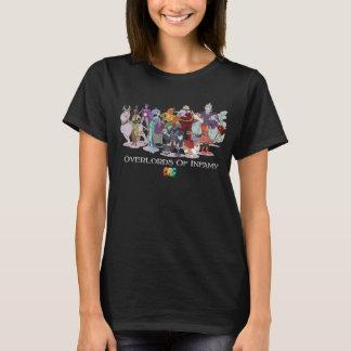 Camiseta O Overlord das mulheres do t-shirt do infâmia