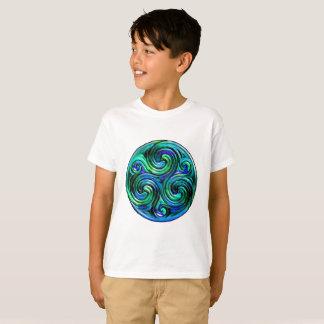 Camiseta O Pacífico acena o t-shirt da criança
