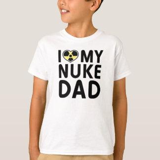 Camiseta O pai das armas nucleares caçoa o T