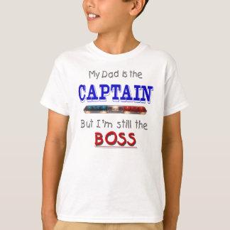 Camiseta O pai é capitão